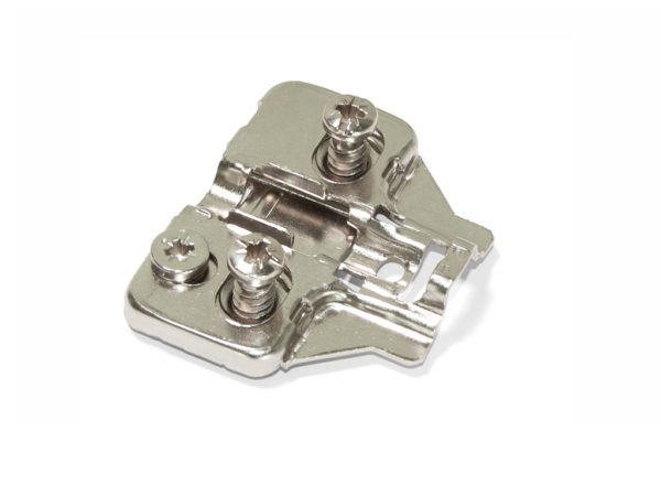 Emuca C91 Plate with Eccentric Regulation Euro Screw - Components