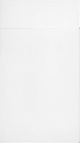 White Flat MFC Kitchen Cabinet Door - Components