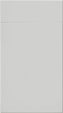 Light Grey Flat MFC Kitchen Cabinet Door - Components
