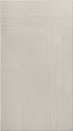 Cashmere Oak Flat Door - Components
