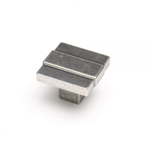 Cromwell Knob in a Pewter Finish - Components