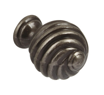 Antique Pewter Twister Knob